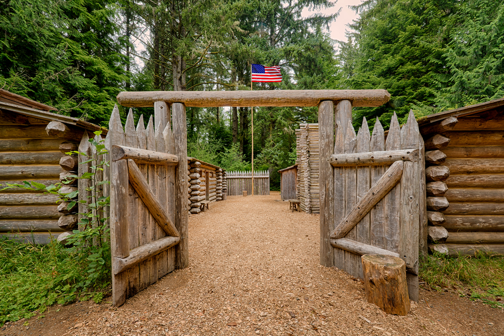 Fort Clatsop on your Oregon coast road trip