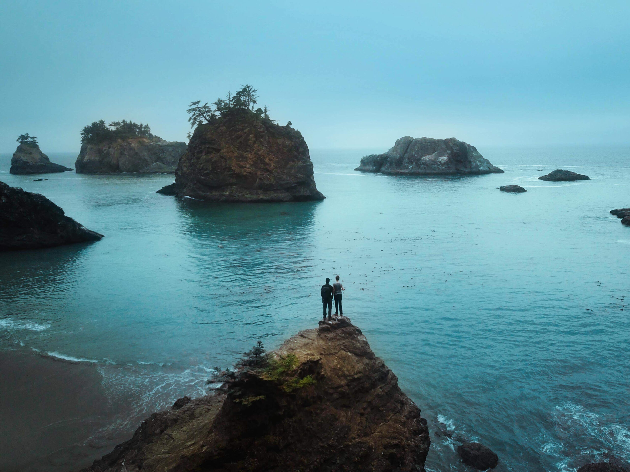 the Samuel H Boardman Scenic Corridor on your Oregon coast road trip