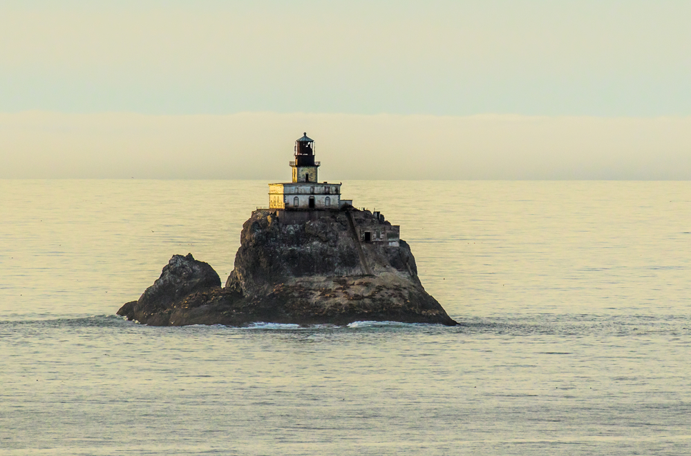 the infamous Tillamook Rock Lighthouse on your Oregon coast road trip