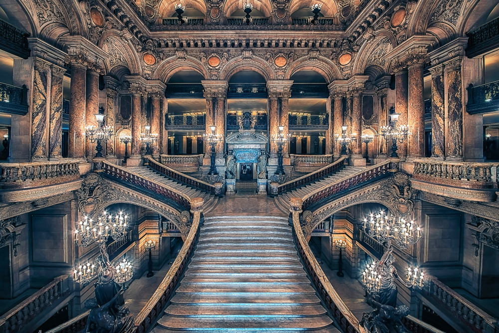 Palais Garnier at Night