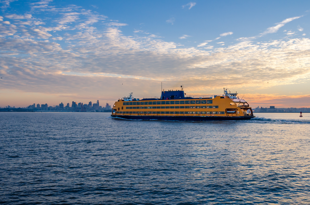 Staten Island Ferry at dawn