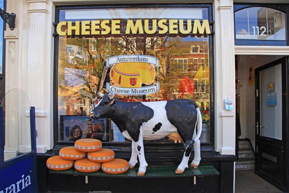 3 Days in Amsterdam Cheese Museum