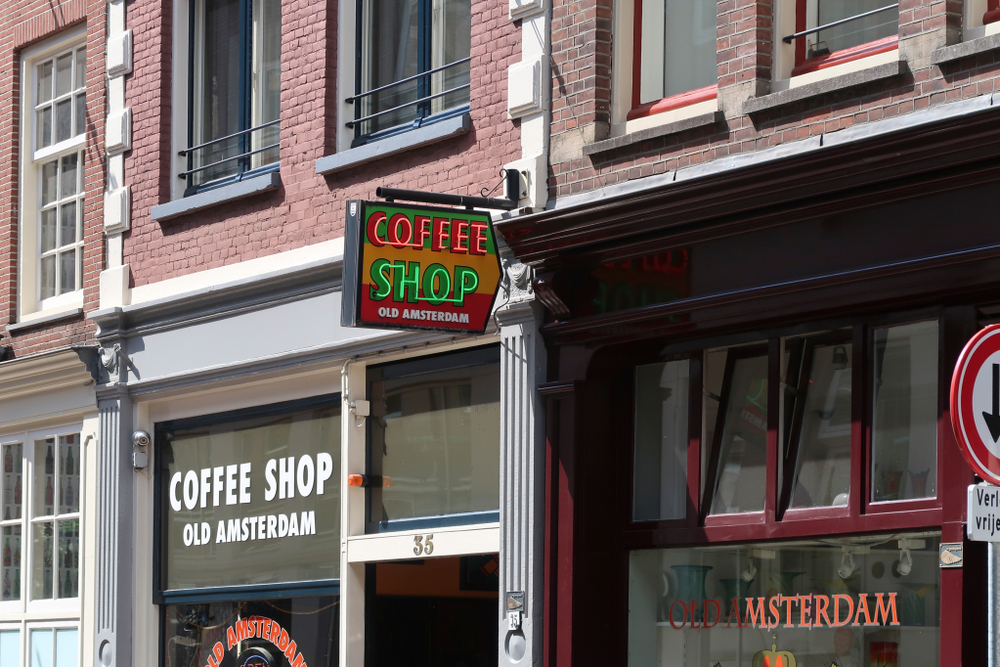 3 Days in Amsterdam Coffeeshop