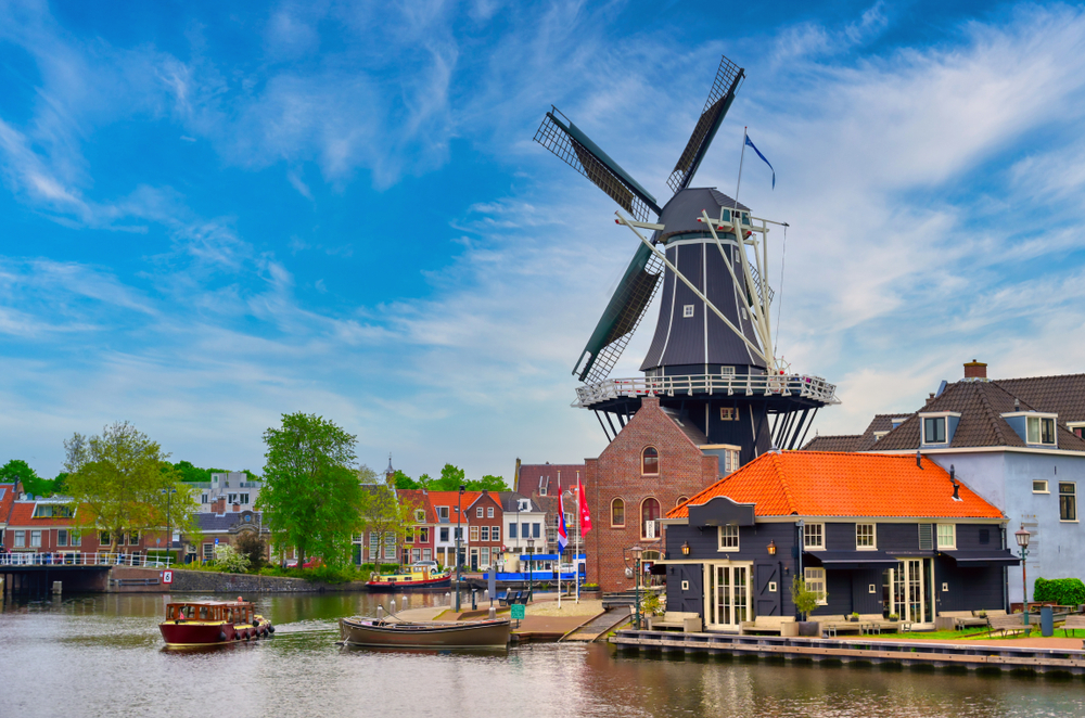 Day Trips From Amsterdam Haarlem Windmill