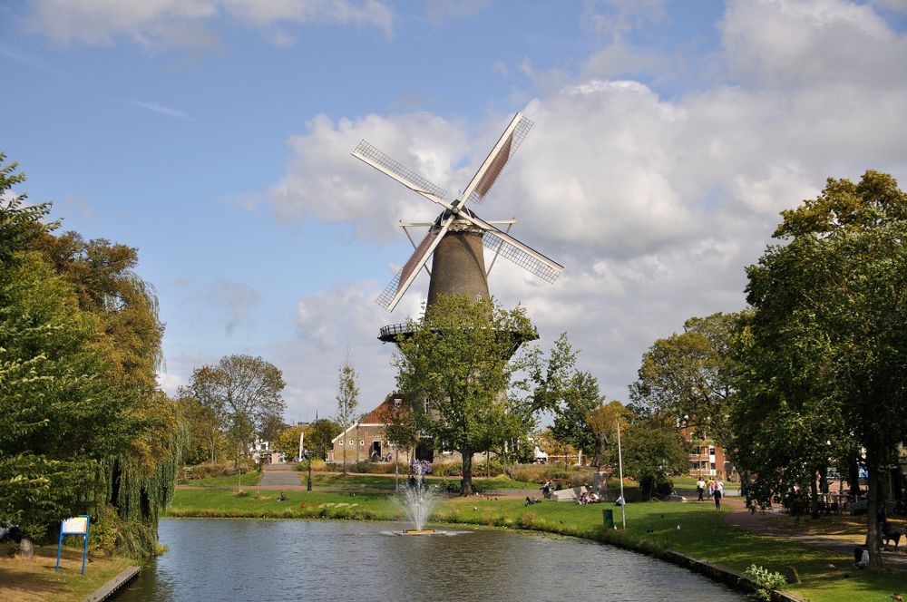 Day Trips From Amsterdam Leiden Windmill