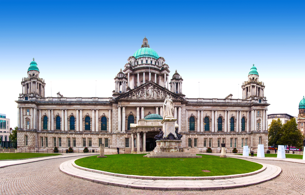 Belfast city hall building
