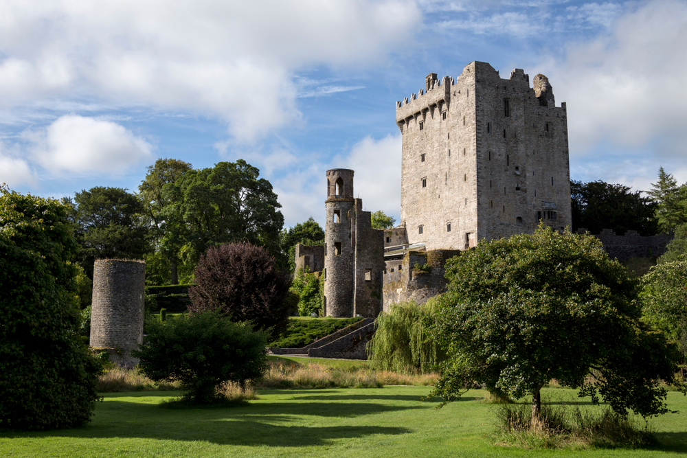 ruins of historic Blarney castle day trips from Dublin