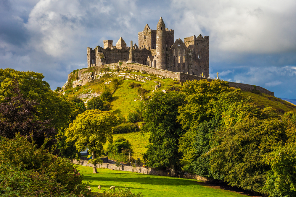 historic castle on green mountain day trips from dublin