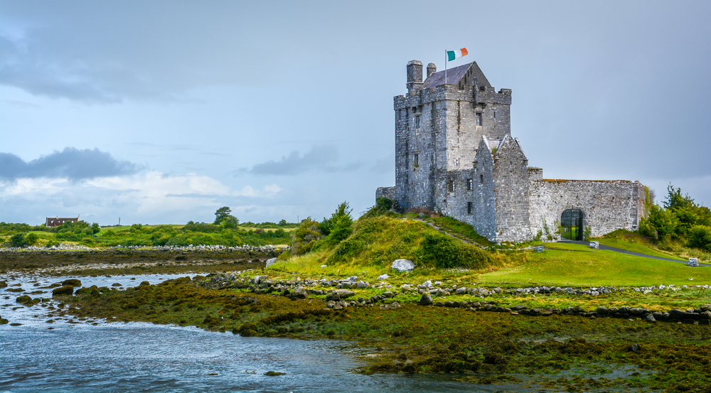 ancient castle along the water day trips from Dublin