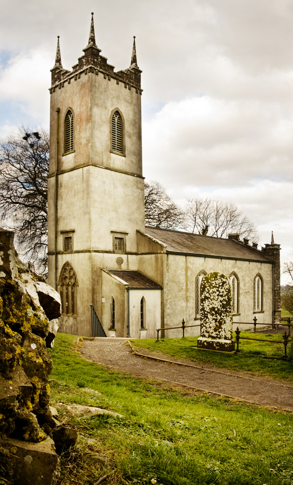 historic church in hill of tara day trips from Dublin