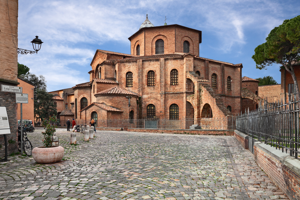 historic building of Ravenna day trips from Florence