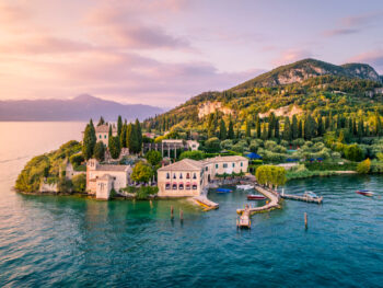 beautiful house on lake Verona day trips from Florence