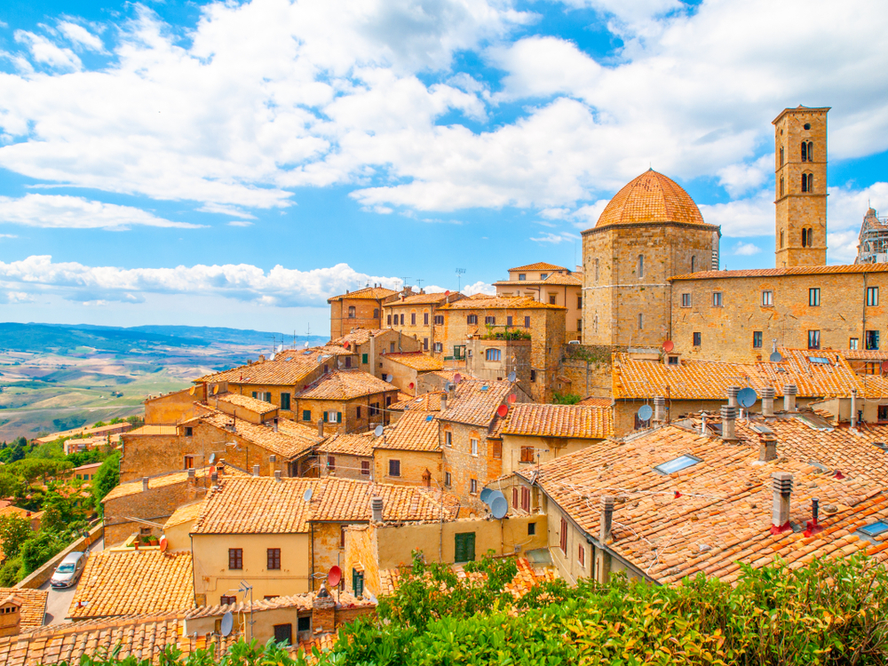 historic buildings of Volterra
