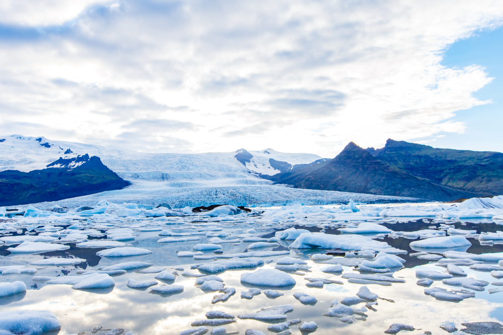 Fjallsarlon Glacier Lagoon, one of the hidden gems in Iceland