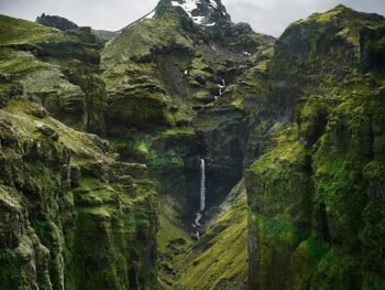 Mulagljufur Canyon In Iceland