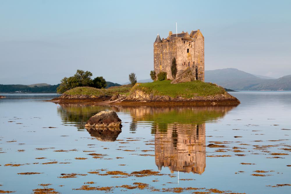 Scotland Road Trip Castle Stalker