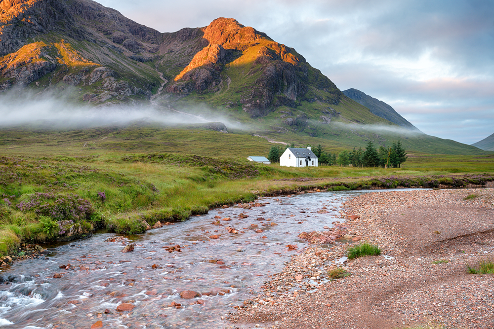 Scotland Road Trip Glencoe House