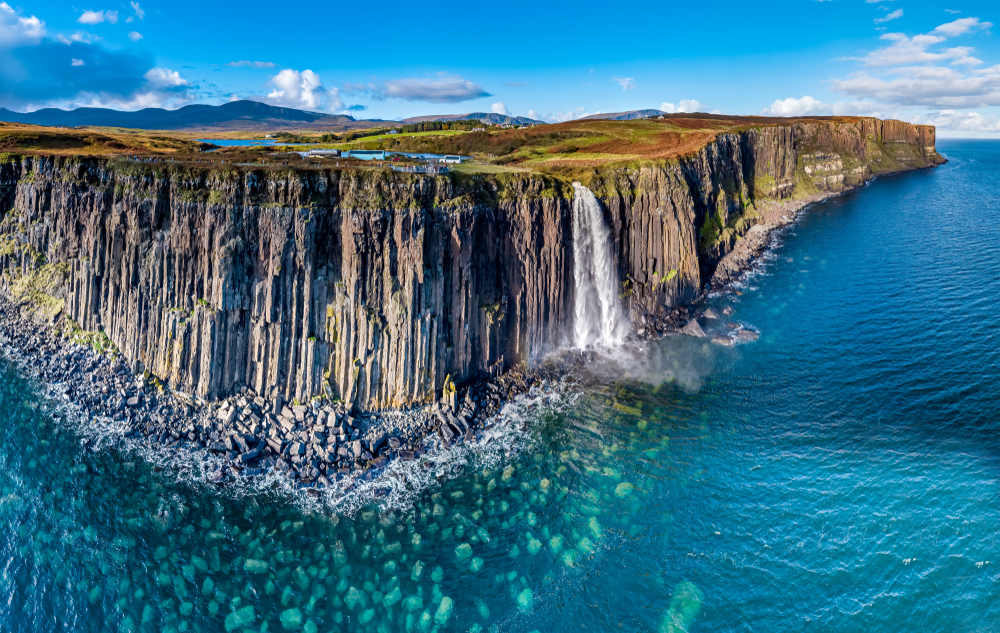 Scotland Road Trip Kilt Rock and Mealt Falls