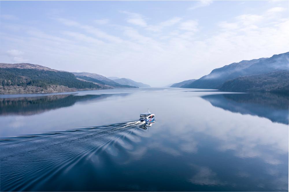 Scotland Road Trip Loch Ness Boat Tour
