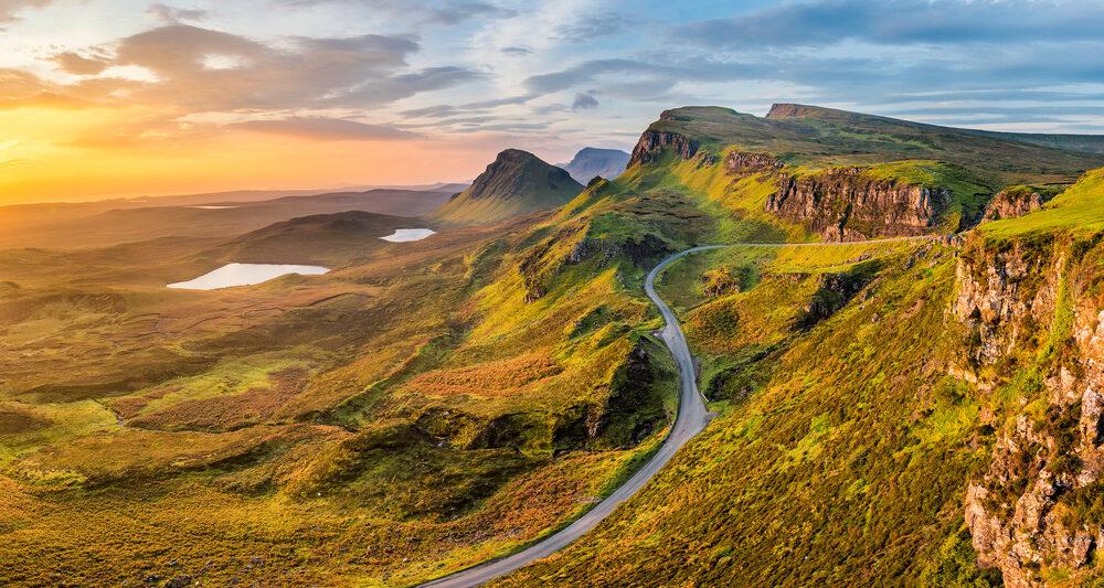 Scotland Road Trip Quiraing Road