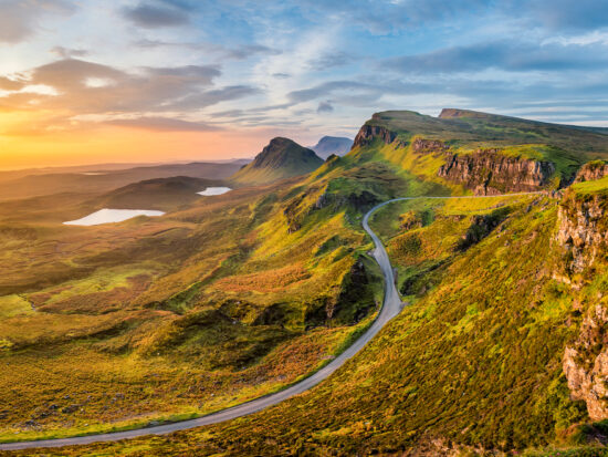 Scotland Road Trip Quiraing Road