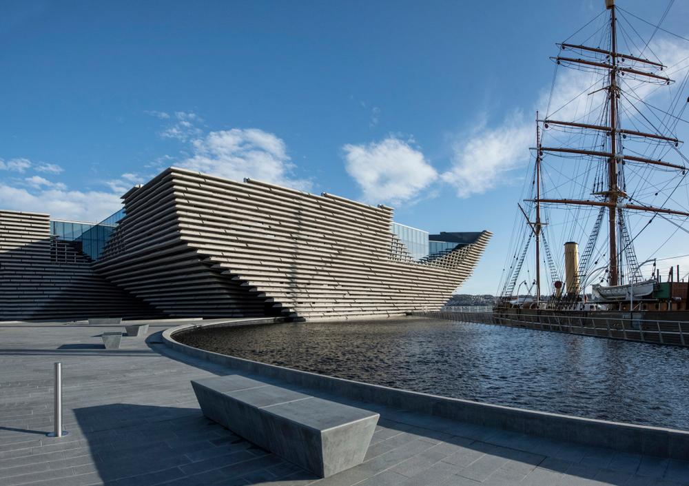 Scotland Road Trip V&A Museum Dundee