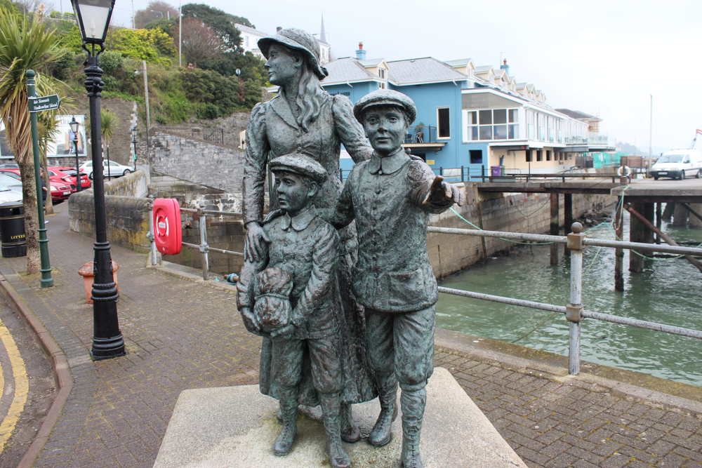 Seeing Annie Moore's statue marks one of the historical things to do in Cobh, Ireland