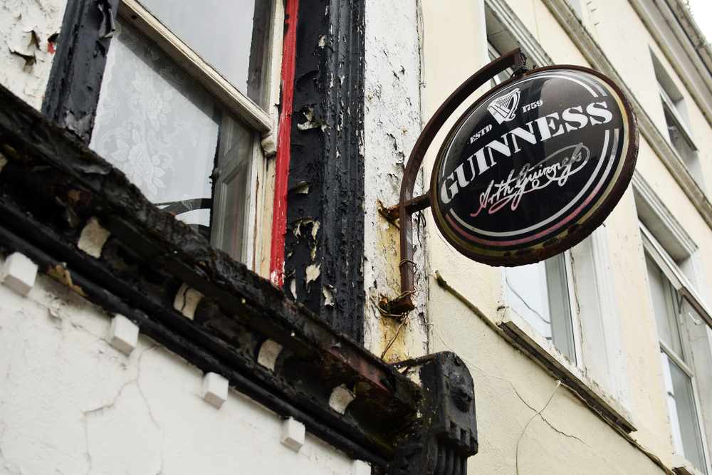 One of the enticing things to do in Cobh is to grab a pint of Guinness at the local pub