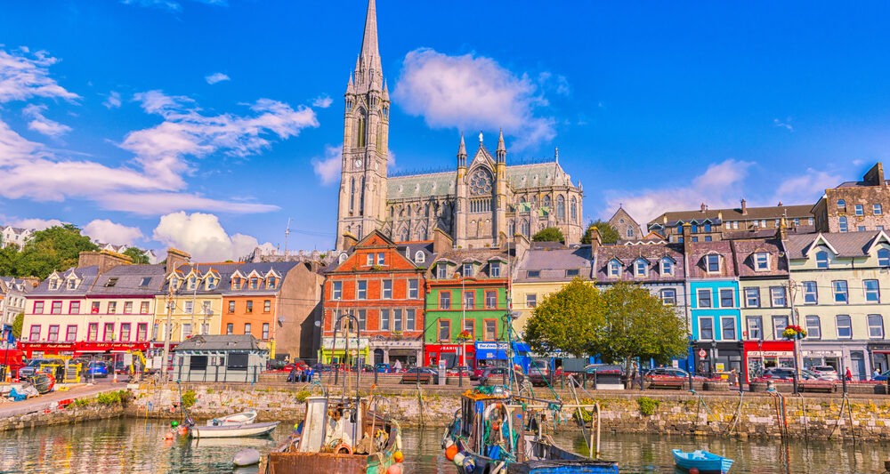 Visiting the harbor is one of the best things to do in Cobh, Ireland