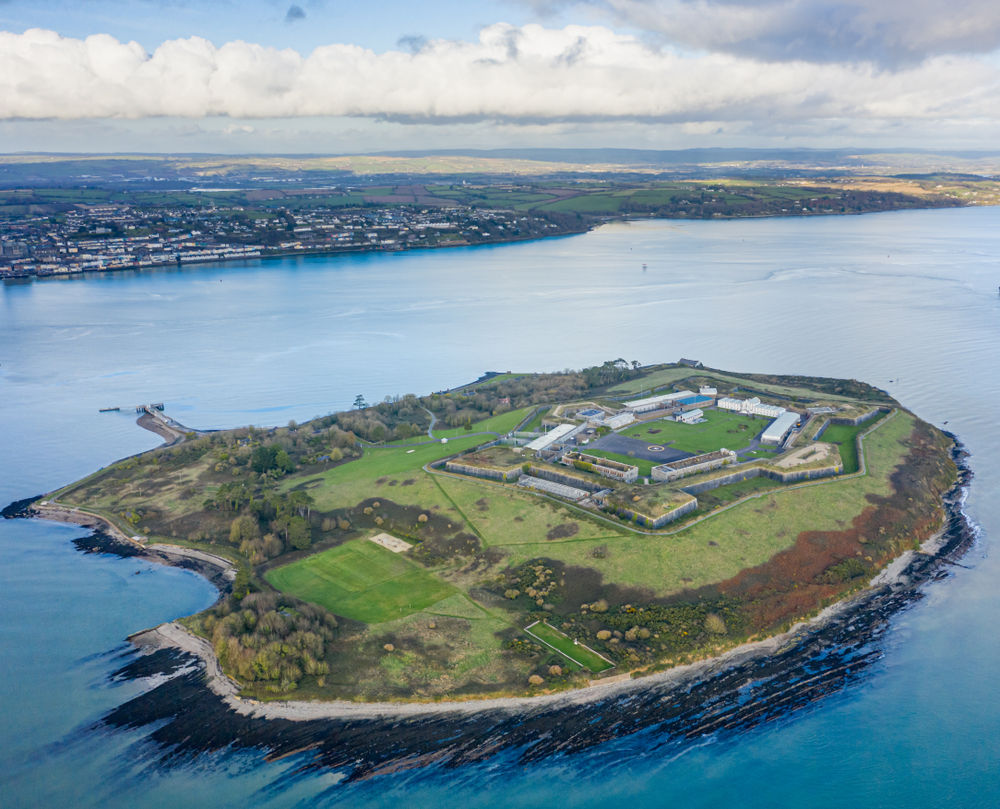 Many people visit Spike Island while planning their list of things to do in Cobh