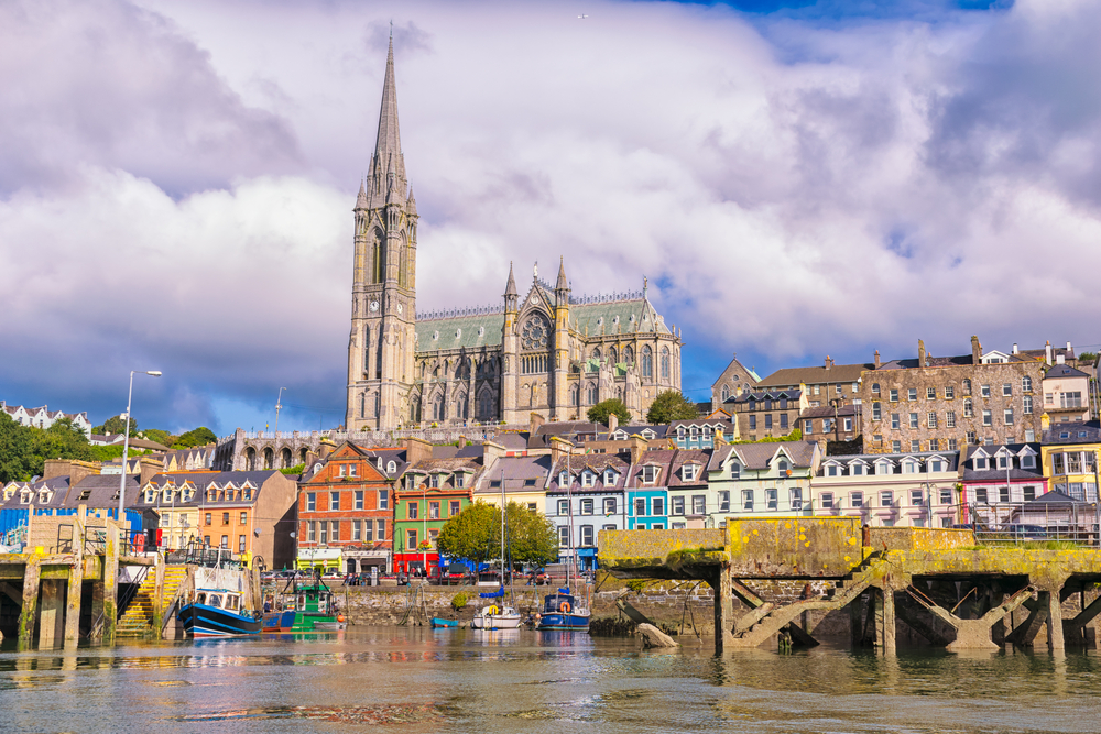 One of the greatest things to do in Cobh is to see St. Colman's Cathedral