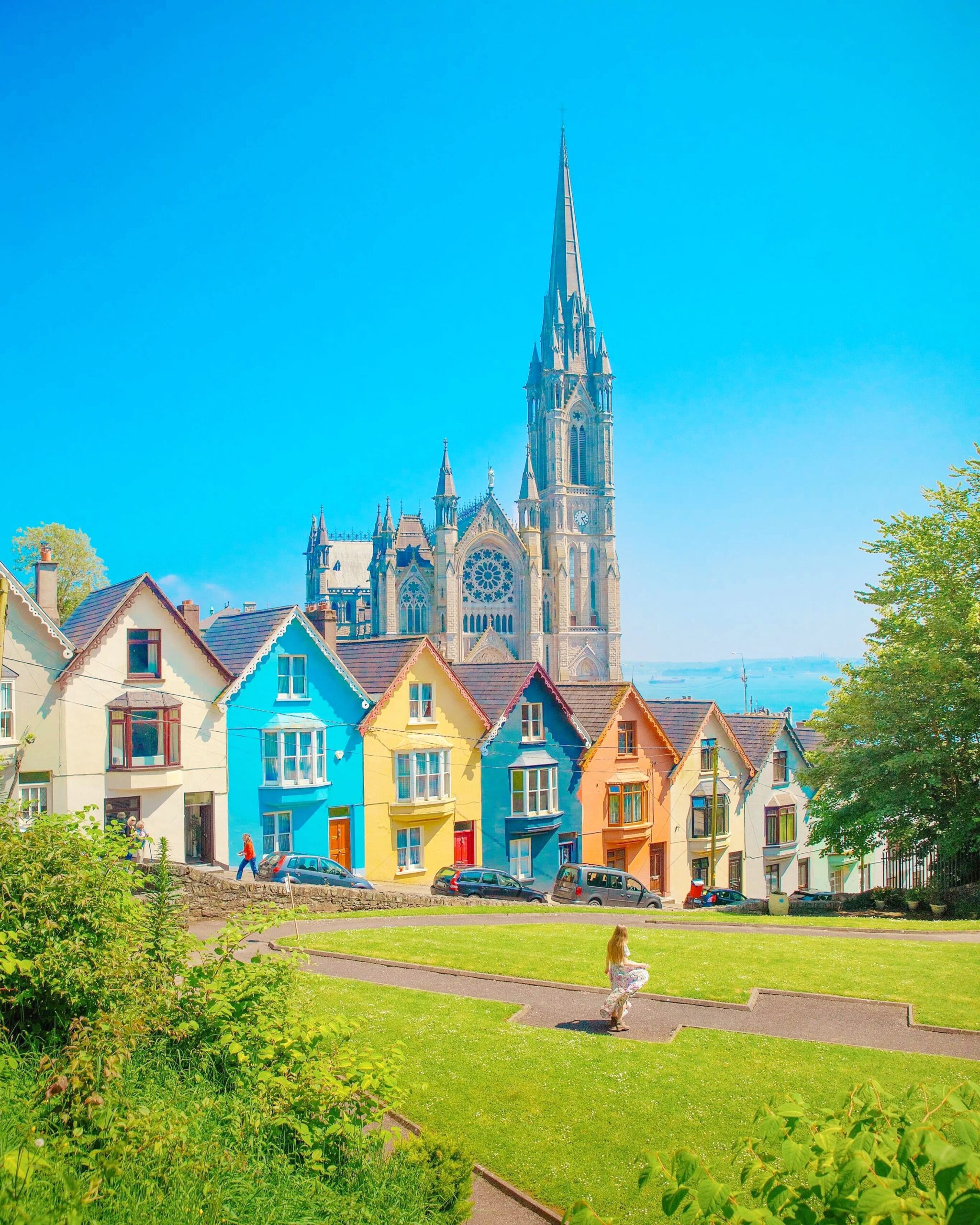 Explore the Deck of Cards Houses viewpoint on your hunt for fun things to do in Cobh, Ireland
