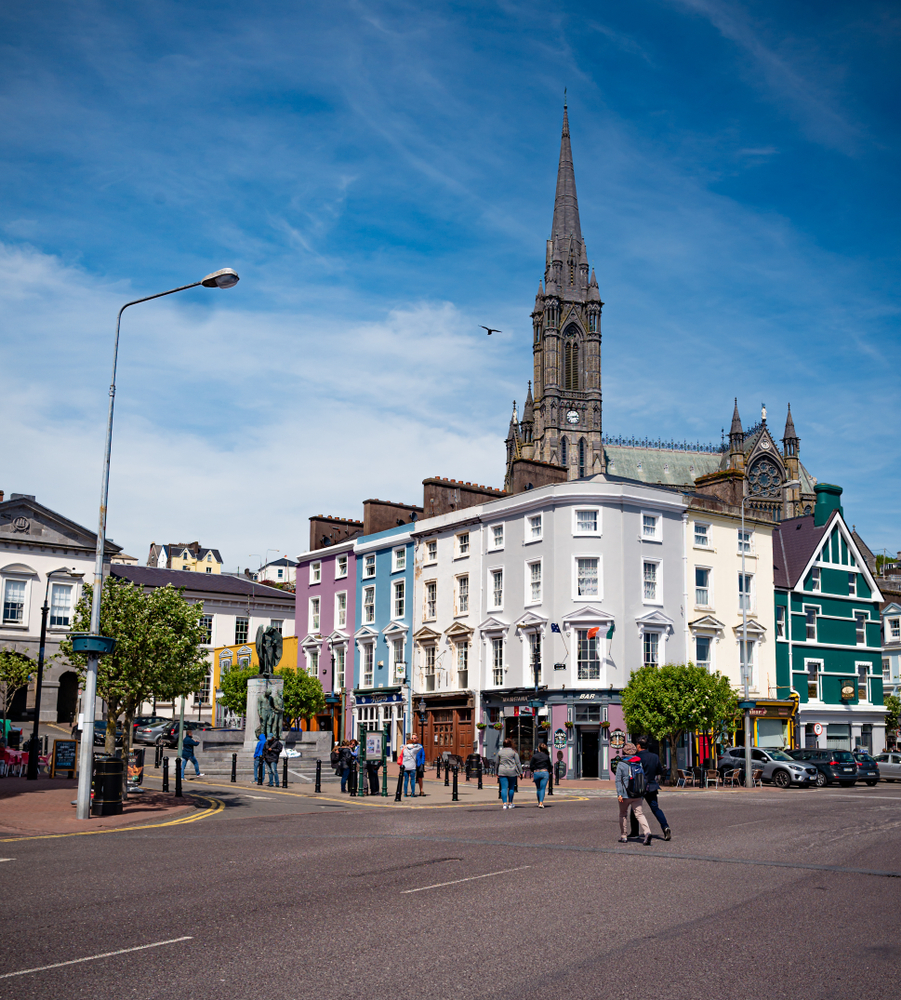 Walking tours are some of the best things to do in Cobh, Ireland