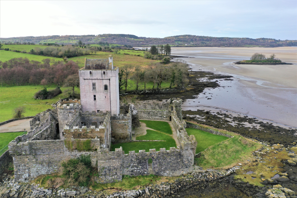 This Medieval Castle has been standing over Sheephaven Bay since the 13th Century.