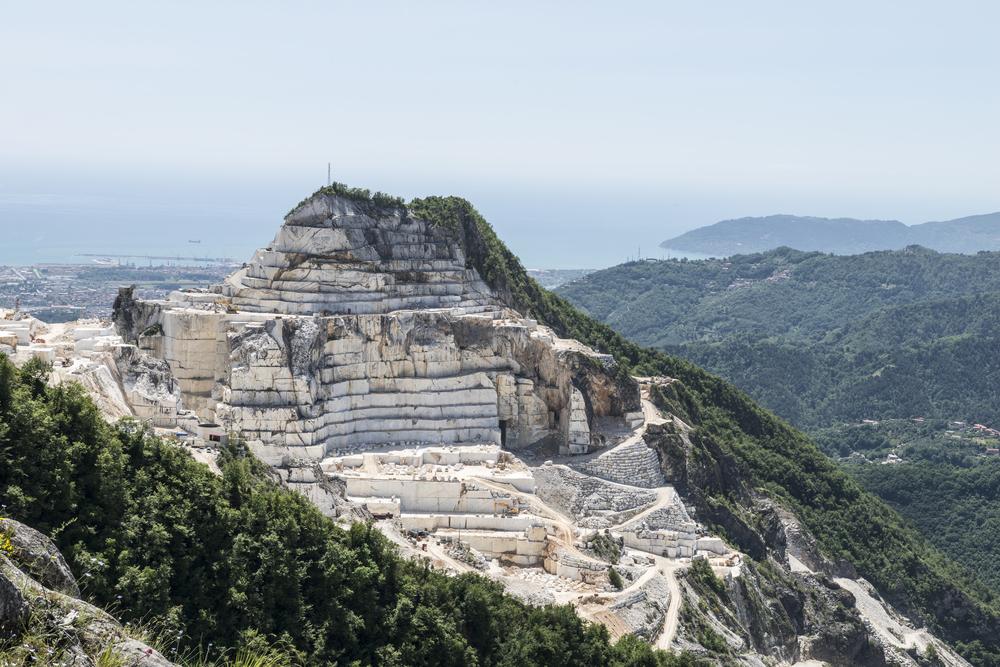 Carrara Marble Quarries of Tuscany