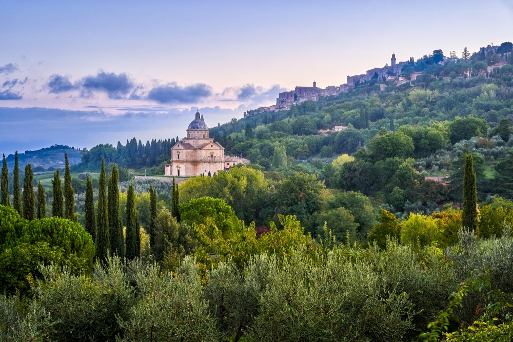 Montepulciano a heaven in the hilltops one of the prettiest villages in Tuscany