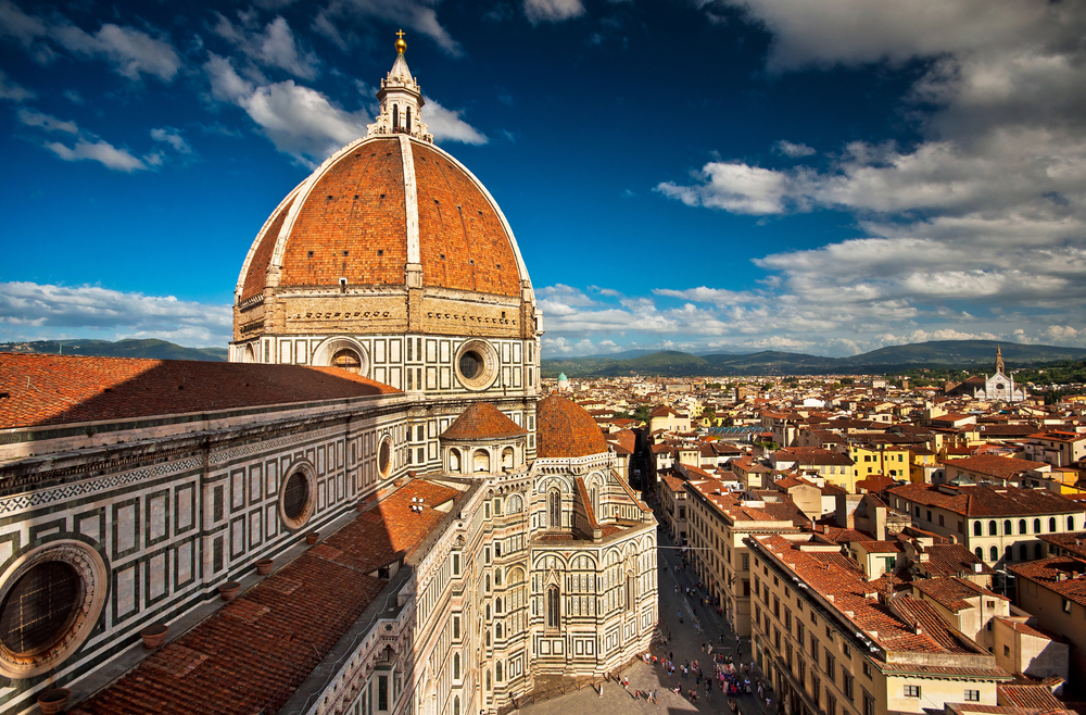 The beautiful dome of the Duomo in Florence