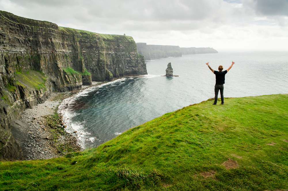 Iconic Cliffs of Moher, something that you want to include in your trip to Ireland Cost
