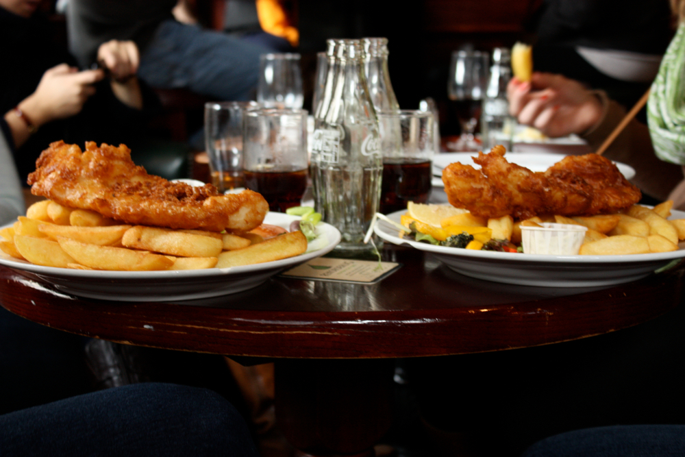 Fish and chips are a great choice for any trip to Ireland cost