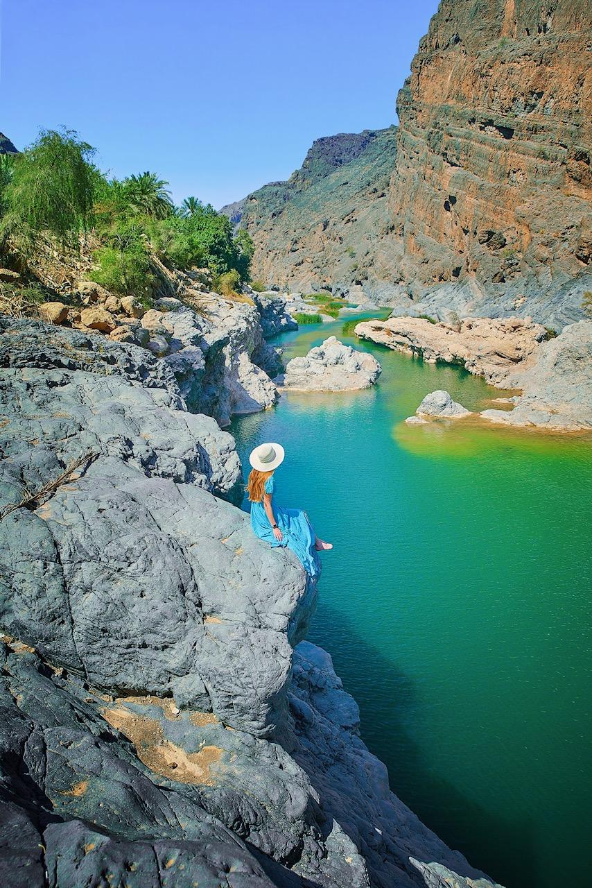 Wadi Al Arbiyeen, one of the prettiest wadis in Oman