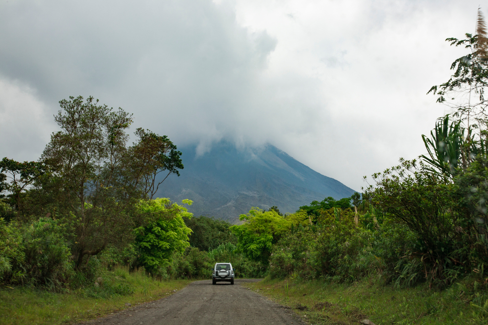 renting a car is one way to get around on your costa rica honeymoon