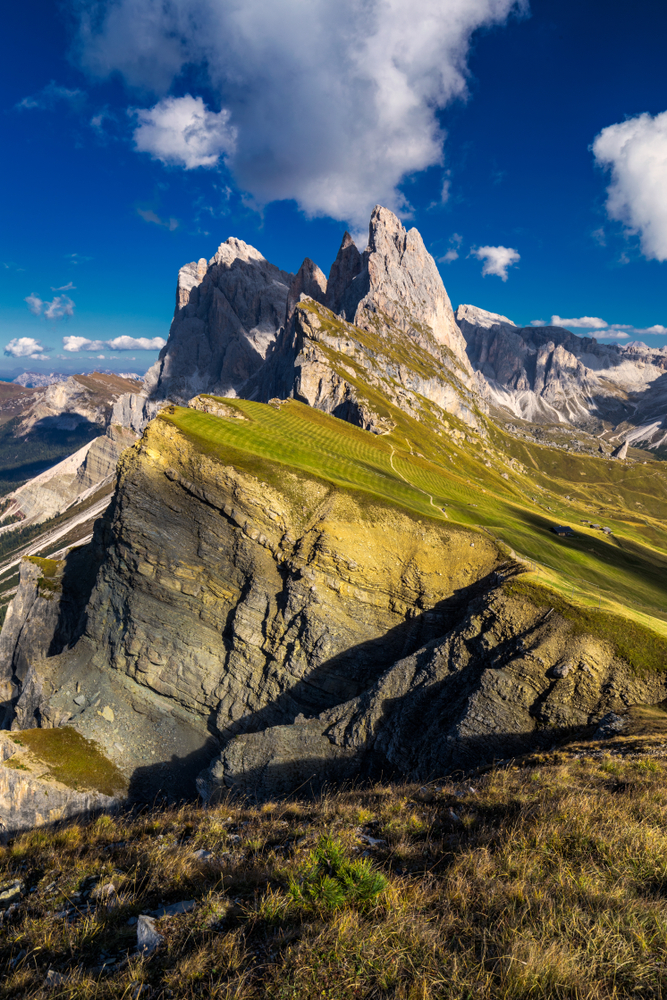 Seceda Ridge, one of the best and most famous Dolomites hiking trails