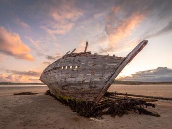 Bunbeg shipwreck, a hidden gem in ireland