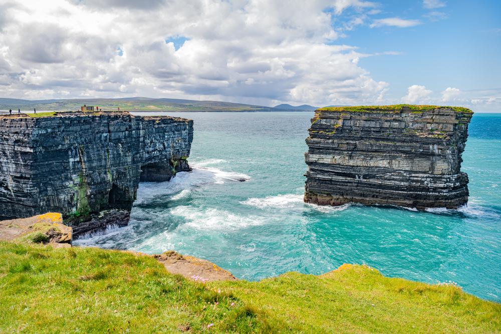 Downpatrick Head is a gorgeous hidden gem in Ireland