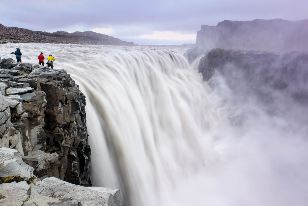 Dettifoss waterfall on the Iceland Ring Road