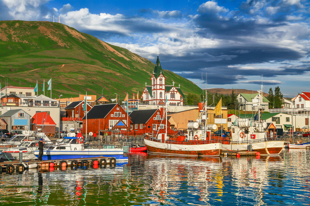 Husavik on the Iceland Ring Road