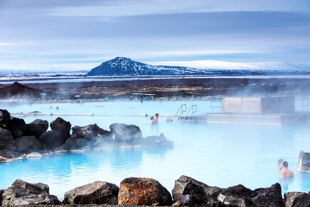 the Myvatn Nature Baths on the Iceland Ring Road