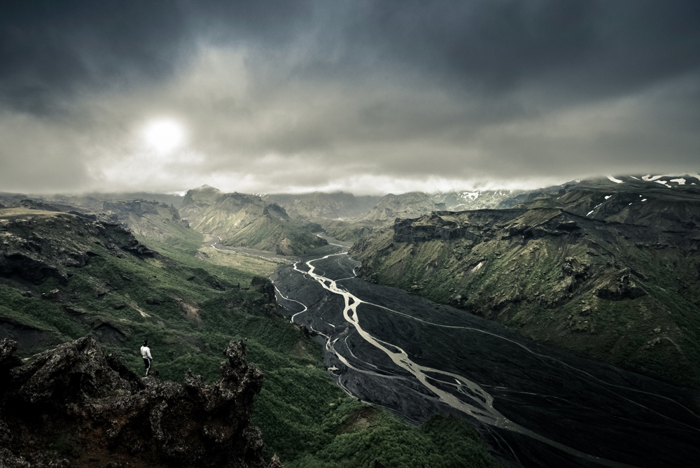 Thorsmork valley on the Iceland Ring Road