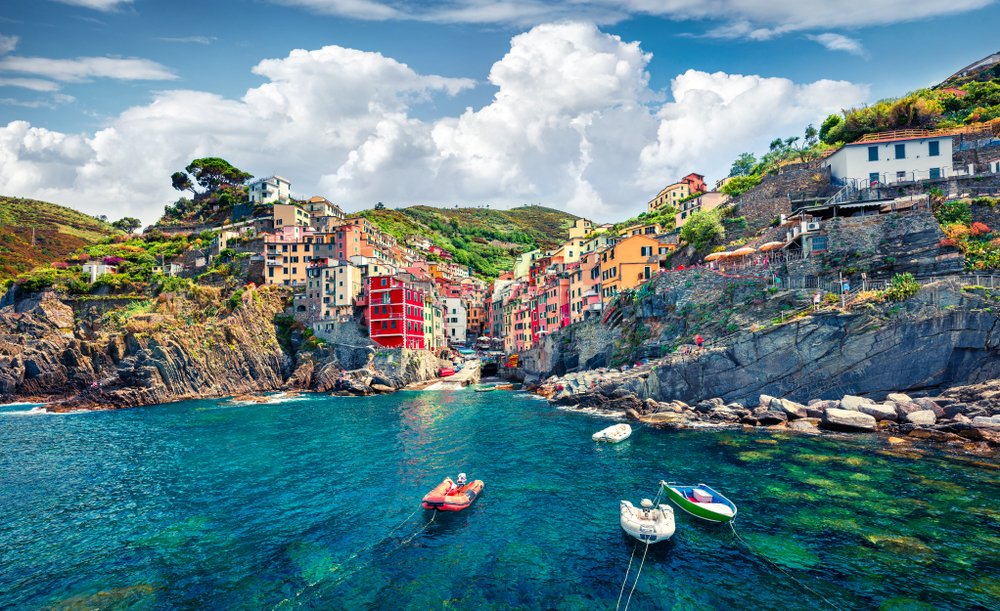 Things to do in Cinque Terre Riomaggiore from the water