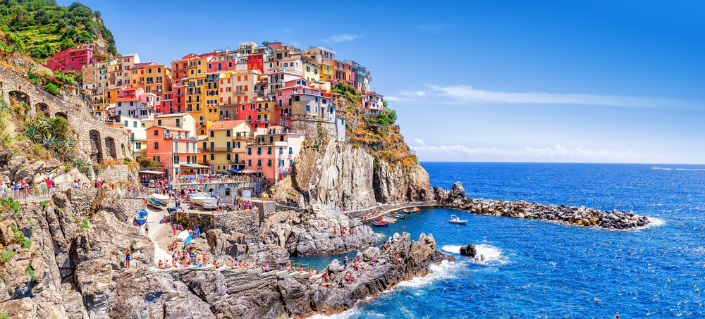 The picturesque view of Manalora Cinque Terre